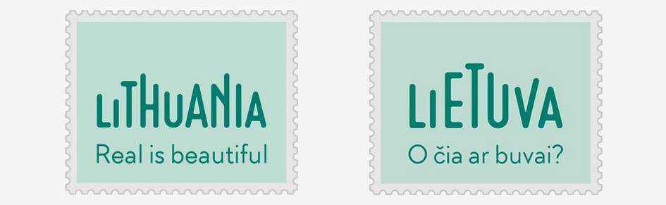 国家旅游Lithuanian形象LOGO设计