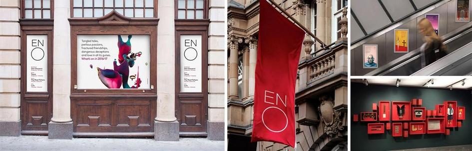 英国国家歌剧院English National Opera形象VI设计系统