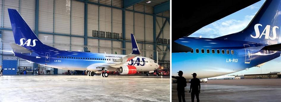 北欧航空公司SAS品牌形象设计