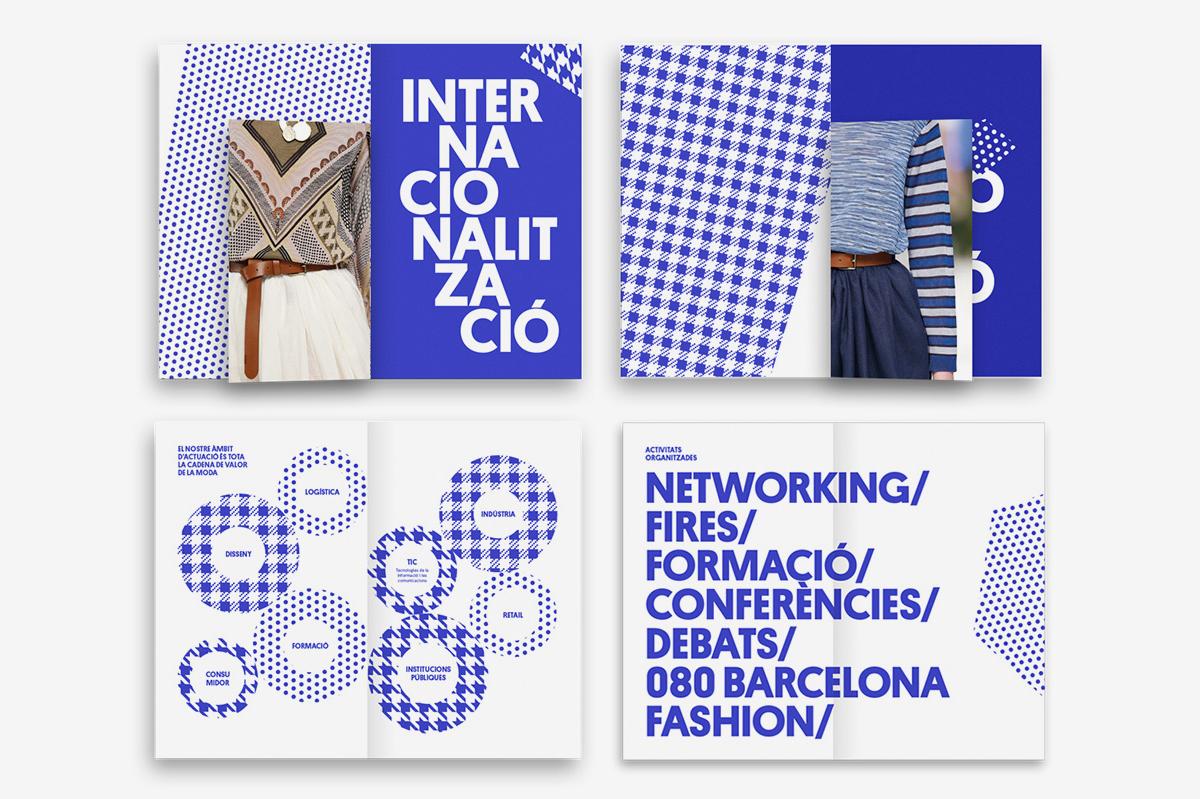西班牙加泰罗尼亚纺织协会Modacc形象VI设计