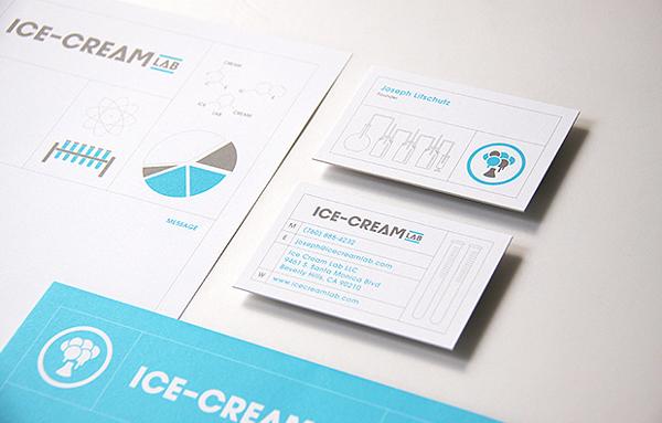国外食品vi设计欣赏,雪糕品牌案例