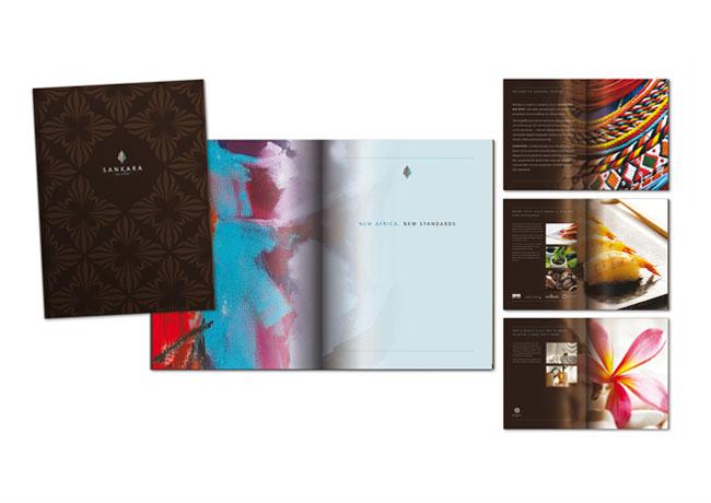 国际五星级酒店Sankara形象VI设计