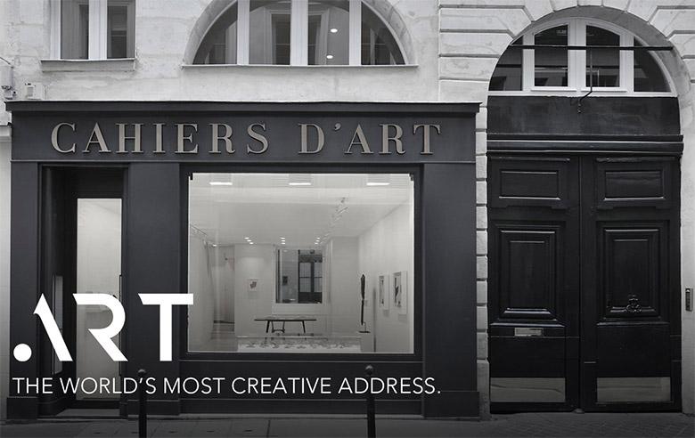 艺术界Interbrand顶级域名.ART形象设计