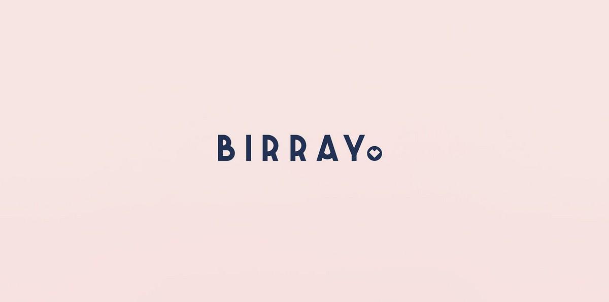 女装店Brrayo形象vi设计