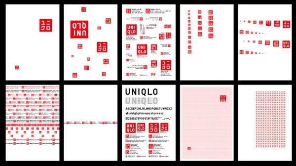 日本服装品牌优衣库Uniqlo企业形象设计
