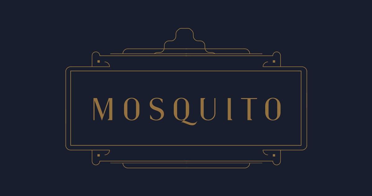Mosquito高档甜点餐厅视觉VI设计