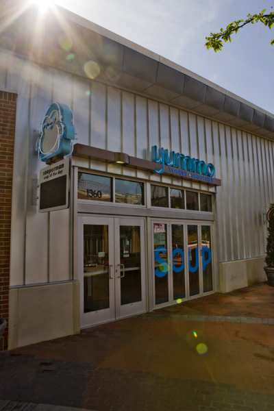 Yummo冰淇淋店品牌形象设计