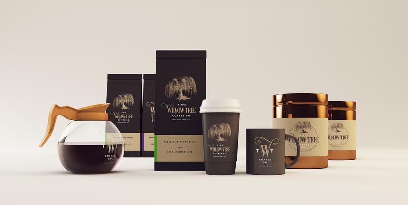 咖啡公司咖啡店连锁店品牌VI形象设计