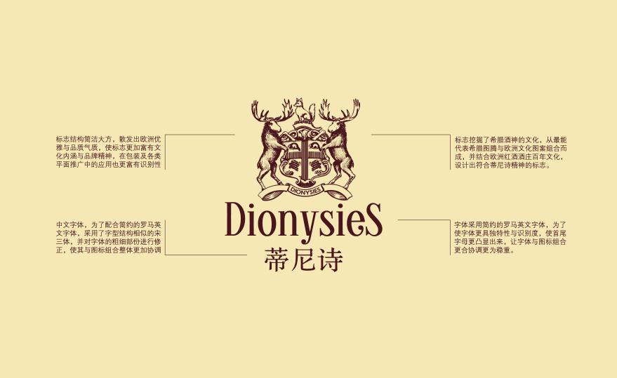 蒂尼诗红酒品牌vi设计