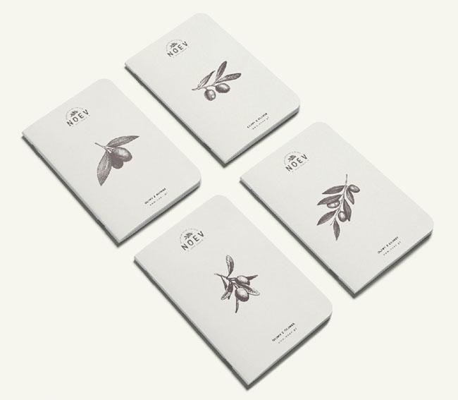Noev橄榄油店品牌形象VI设计
