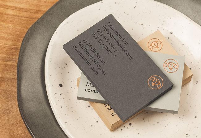 国外Common Lot西餐厅品牌形象VI设计