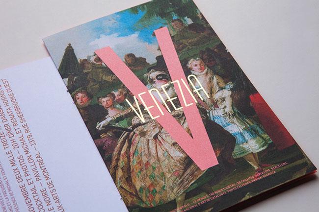 蒙特利尔博物馆舞会时尚VI设计