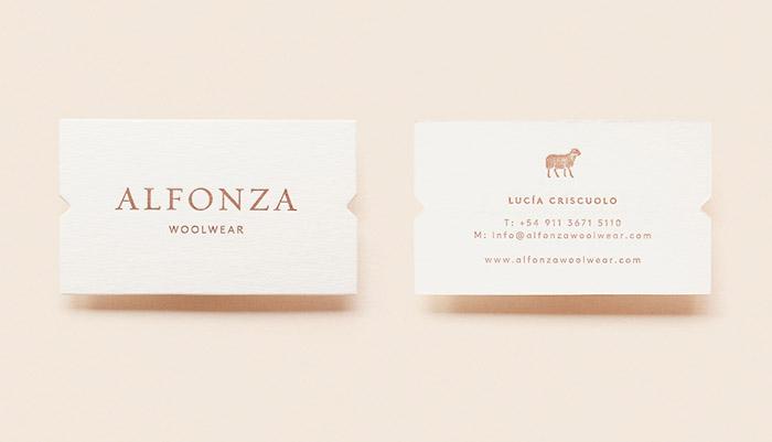Alfonza羊毛衫品牌形象VI设计