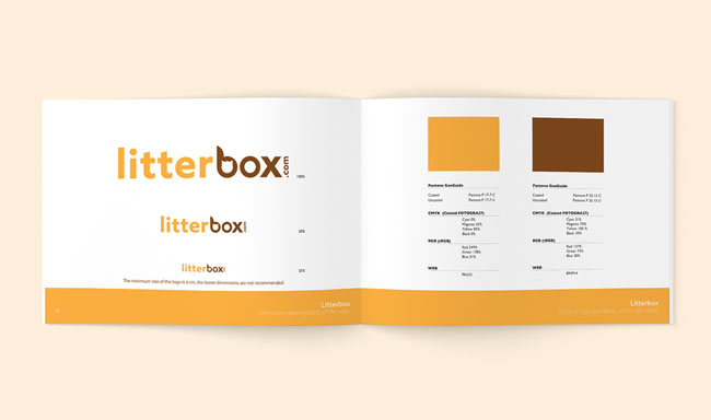 Litterbox猫砂品牌VI设计欣赏