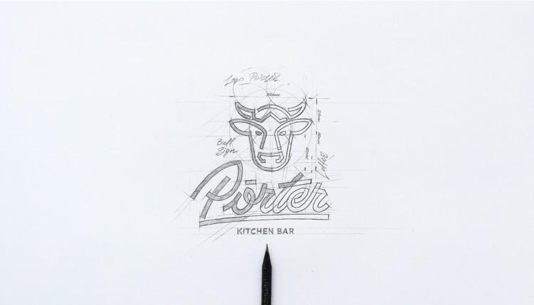 Porter餐厅品牌形象VI设计