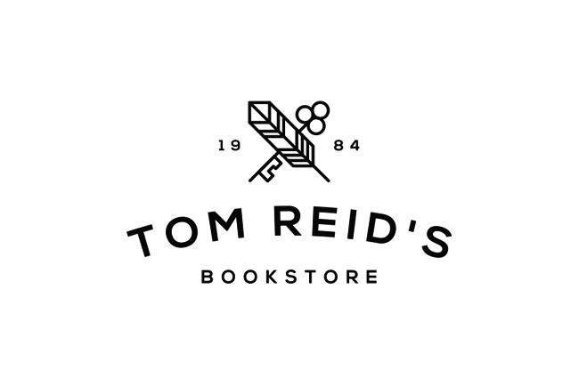 精致的Tom Reid's书店VI设计