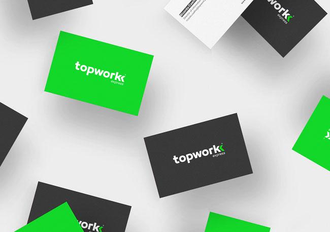 葡萄牙Topwork顶级快递企业VI设计