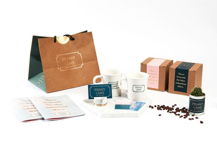 Penny Lane咖啡馆品牌VI视觉设计