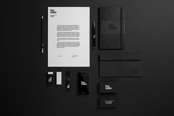 领结品牌Farfalla品牌vi视觉设计