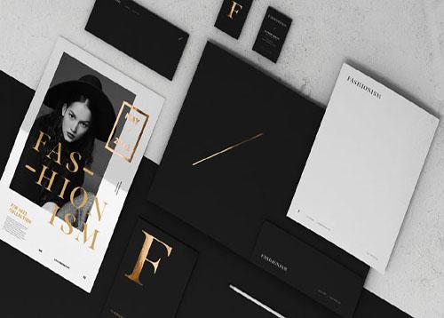 fashionism奢侈品服务品牌形象VI设计