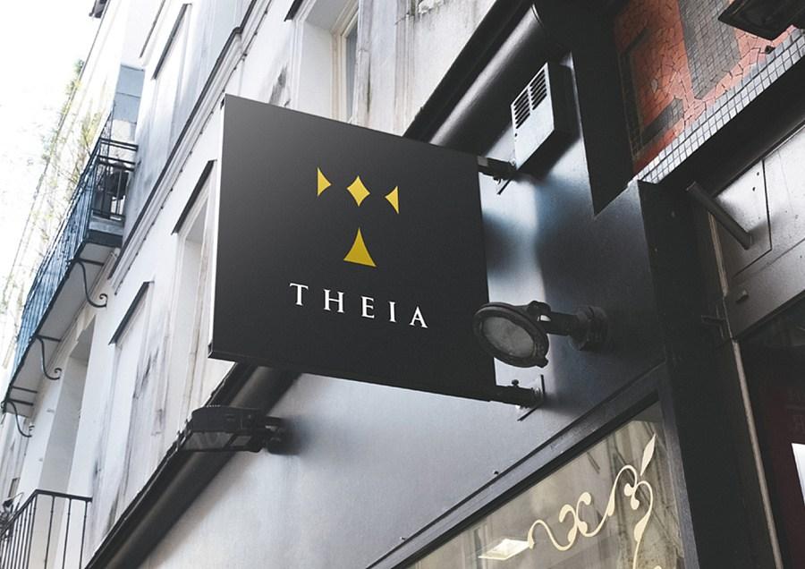 THEIA钻石珠宝企业形象vi设计
