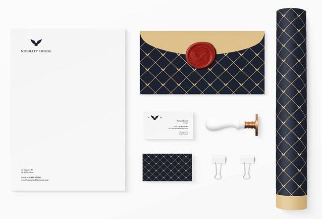 美国David Moncado商业品牌企业VI设计