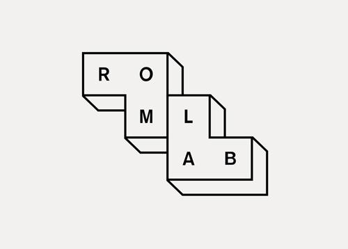 建筑和室内设计工作室Romlab视觉形象设计