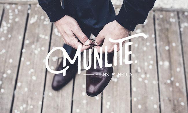 国外Munlite婚纱摄影公司品牌形象VI设计