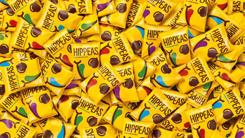 全球HIPPEAS有机鹰嘴豆泡芙系列vi形象设计