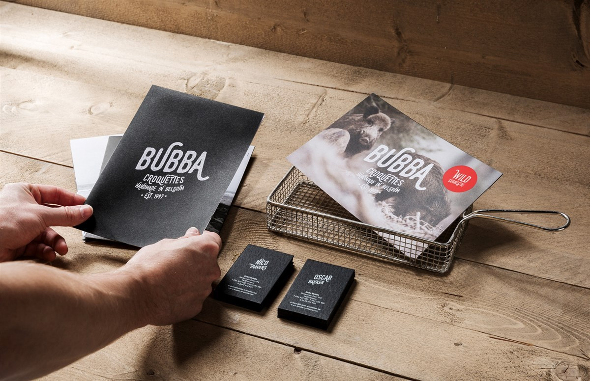 BUBBA手工炸丸品牌vi形象设计