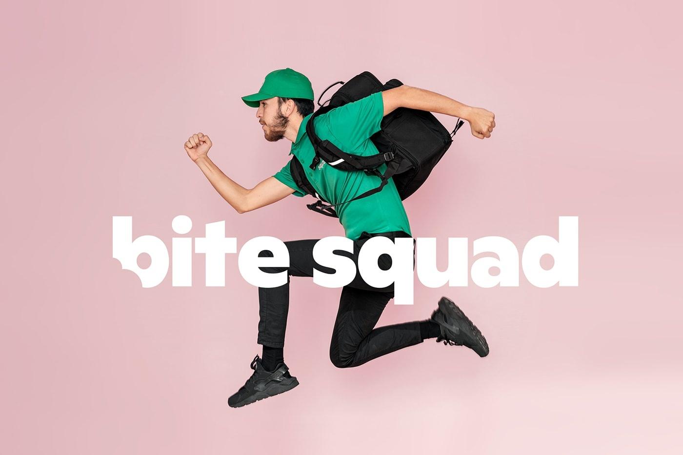 美国物流公司Bite Squad品牌VI设计欣赏