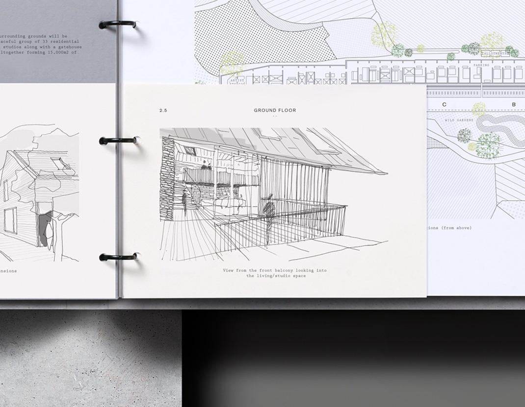 ICO Design文福德瑞房地产公司VI设计欣赏