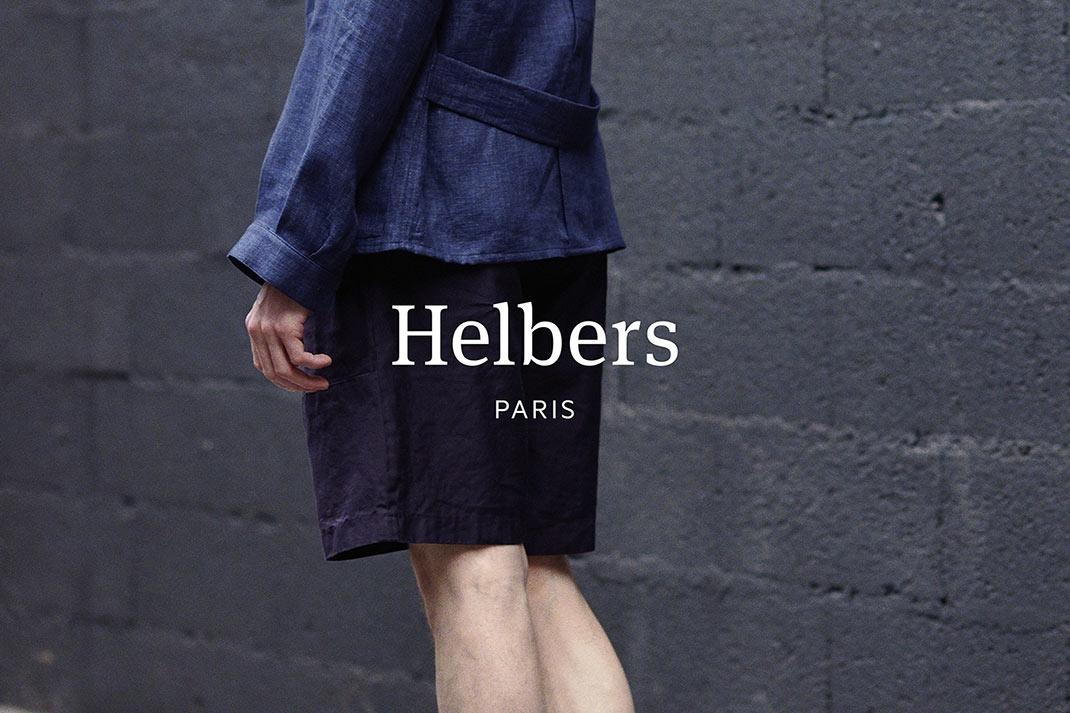 巴黎的男装品牌Helber男装品牌VI设计欣赏