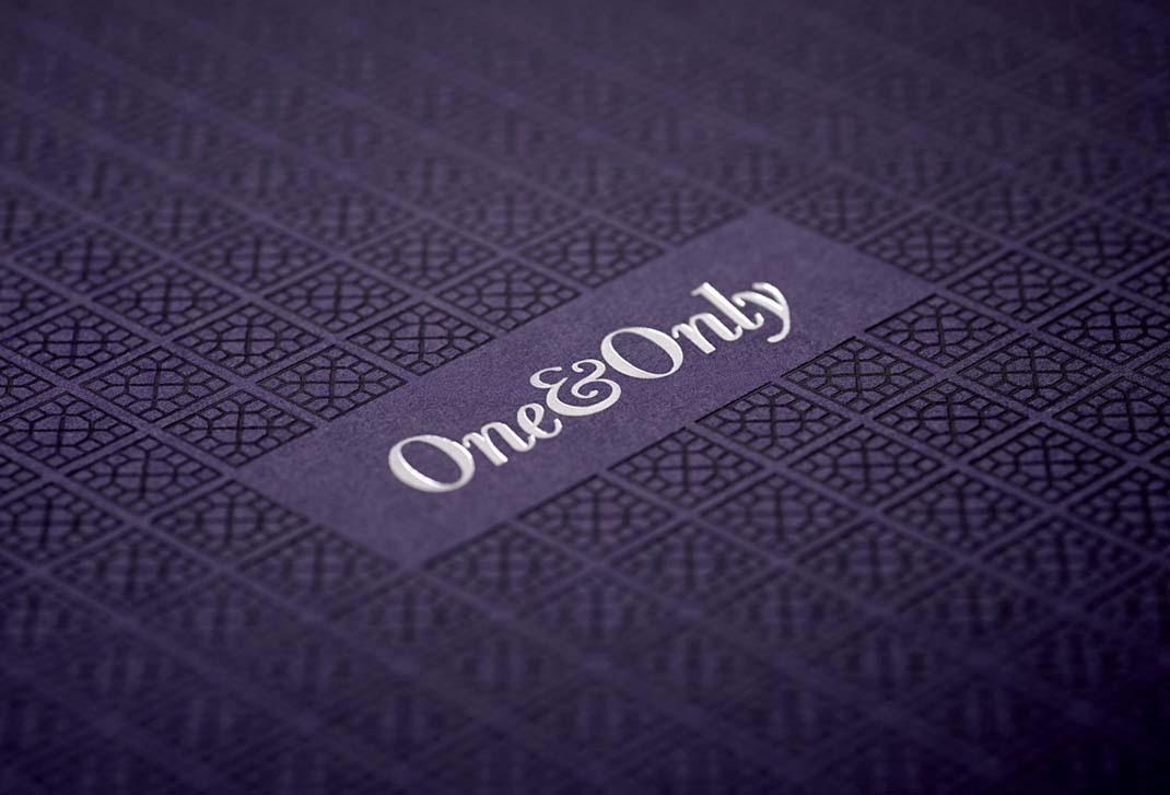 国外One&Only度假村logo设计、VI设计欣赏