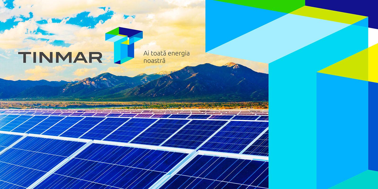 罗马尼亚能源公司Tinmar品牌形象vi设计