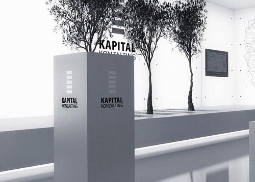 伊斯特利亚KAPITAL品牌VI设计及展厅设计欣赏