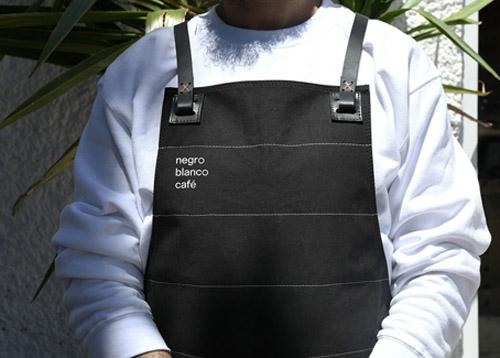 Negroblanco咖啡馆logo、VI设计