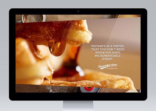 杰克煎饼美食响应式网站vi设计欣赏