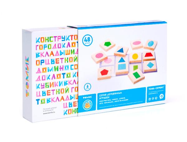 俄罗斯木制儿童玩具品牌Tomik(Томик)vi设计